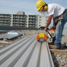 Commercial Steel Roof Construction