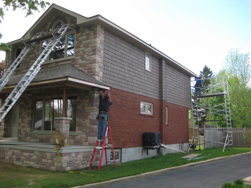 Residential Siding and Roofing - After