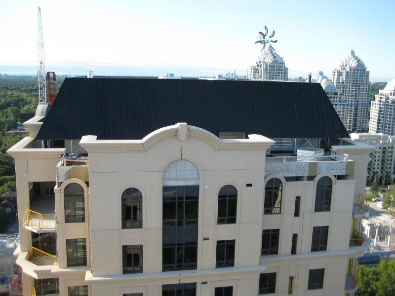 Commercial Steel Roof