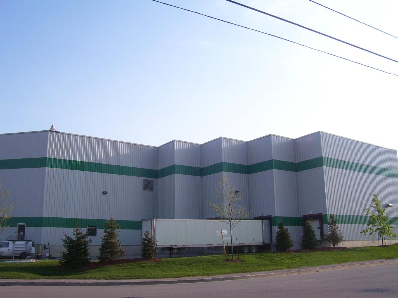 Commercial Steel Siding