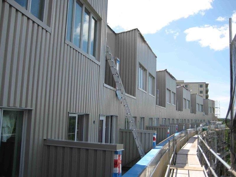 Commercial Steel Siding - After