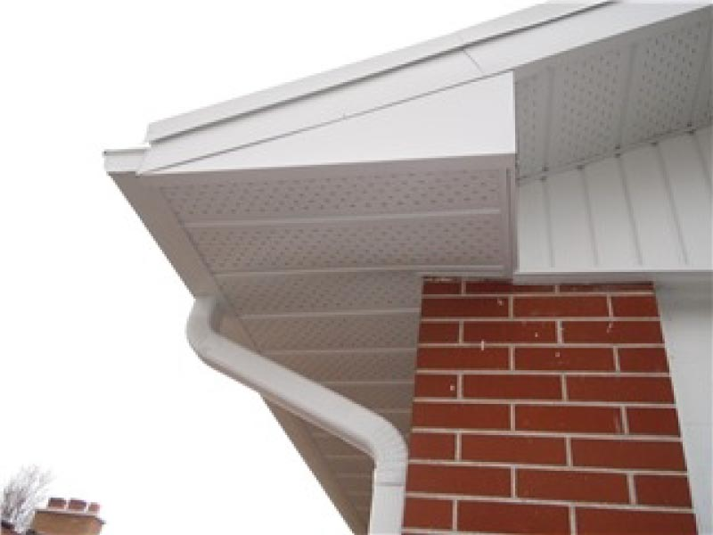 Residential Soffit and Fascia - After
